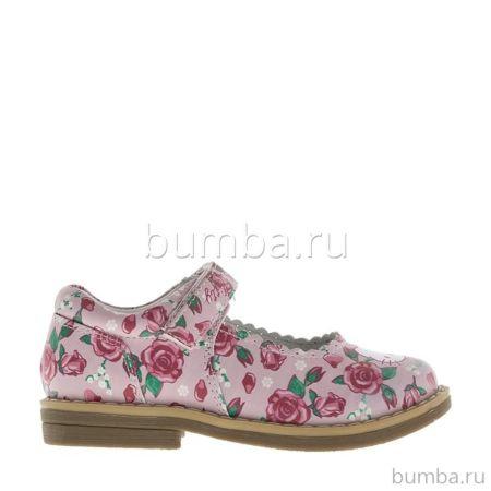 Туфли детские Hello Kitty 6026A для девочек (розовые)