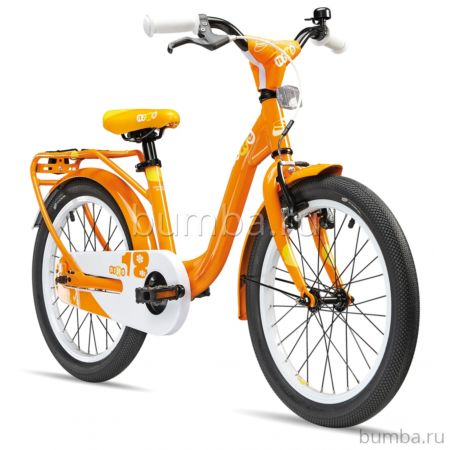 """Велосипед S'cool niXe 18"""" (2016) оранжевый"""