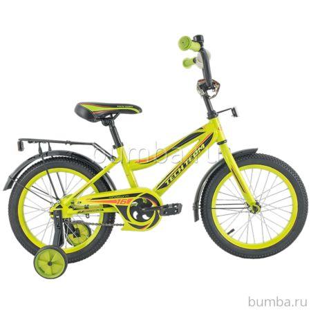 """Детский велосипед TechTeam 136 14"""" 2018 (салатовый)"""