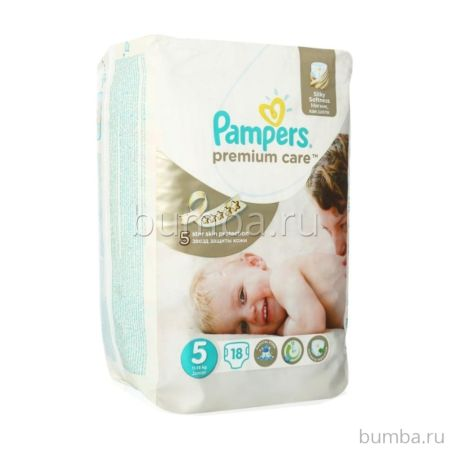 Подгузники Pampers Premium Care Junior (11-18 кг) 18 шт