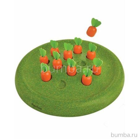 Развивающая игрушка PlanToys Солитёр Морковки