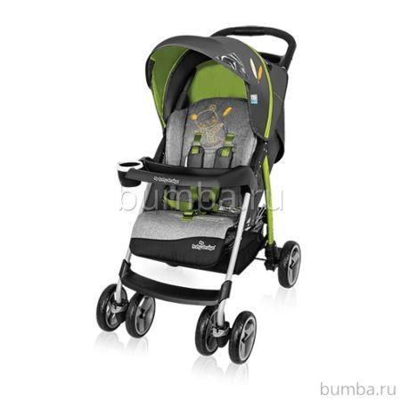Коляска прогулочная Baby Design Walker Lite (зеленая)