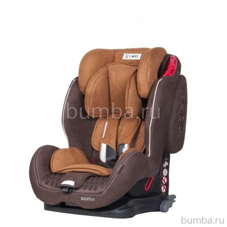 Автокресло Coletto Sportivo IsoFix (Brown/biege)