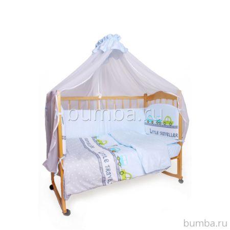 Комплект постельного белья AmaroBaby (7 предметов) Little Traveler