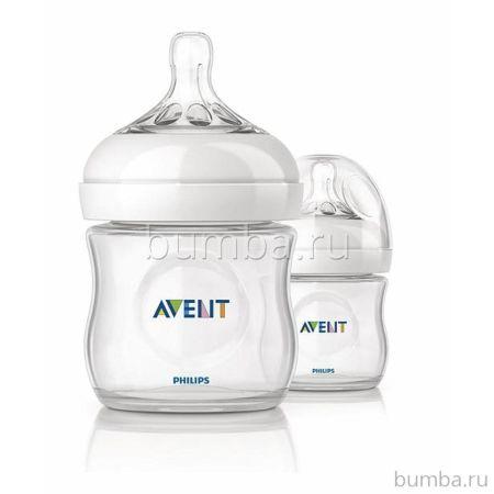 Бутылочка Philips AVENT Natural 125 мл (2 шт.)
