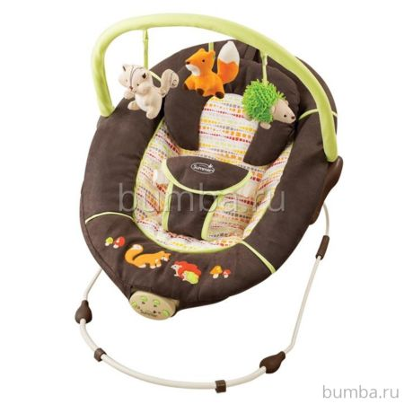 Шезлонг Summer Infant Fox & Friends