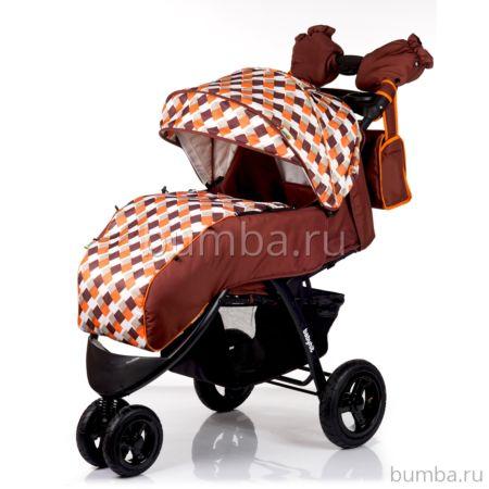 Коляска прогулочная Babyhit Voyage Air (коричневый/оранжевый)