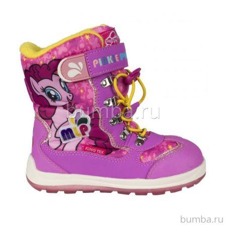 Сапоги детские My Little Pony 5762A для девочек (розовые)