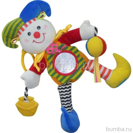 Развивающая игрушка-подвеска Biba Toys Клоун
