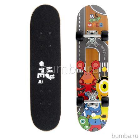 "Скейтборд My Area 24"" Little Monster"
