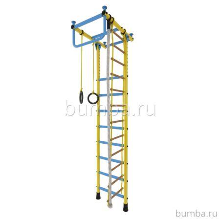 Детский спортивный комплекс Лидер Г-04 (желто-голубой)