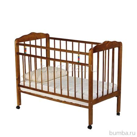 Кроватка детская ЧП Смирнов Женечка-1 (Орех)