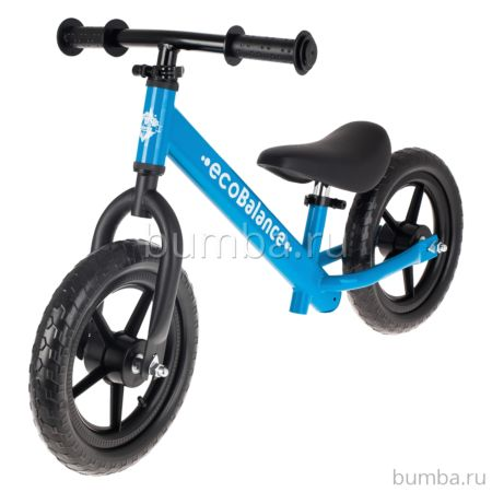 Беговел EcoBalance Race с заниженной рамой (синий)