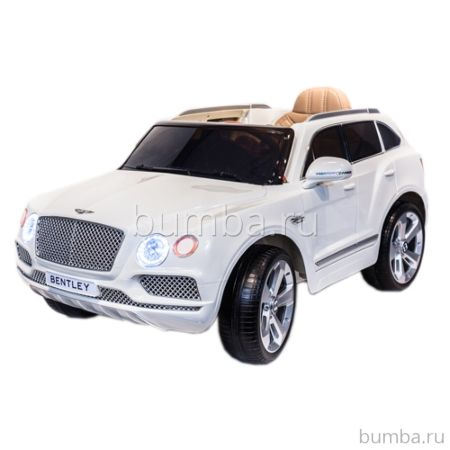 Электромобиль ToyLand Bentley Bentayga (белый)