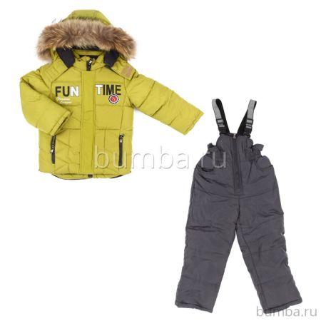 Куртка с полукомбинезоном зимние Fun Time BKF1723M