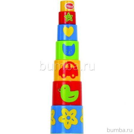 Ведёрко-пирамидка Gowi Формочки