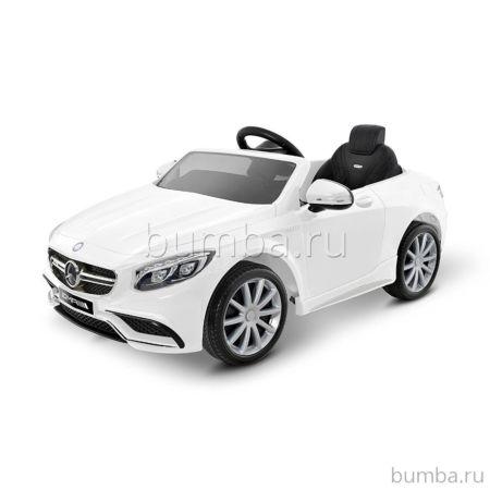 Электромобиль Coolcars Mercedes Benz S63 Luxury 2.4G (белый)