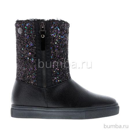 Сапоги детские Begonia 6209A для девочек (черные)