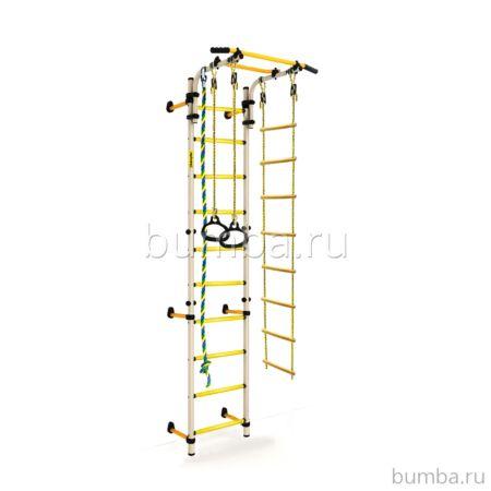 Детский спортивный комплекс Kampfer Strong Kid Wall + 52 см (белый)