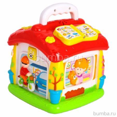 Развивающая игрушка Huile Обучающий Домик