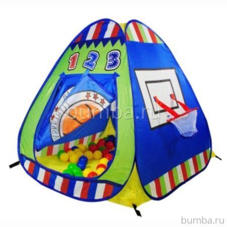 Детская палатка Calida с шарами Баскетбол