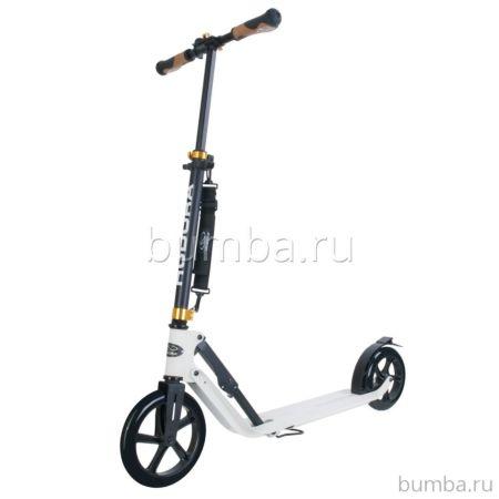 Самокат Hudora Big Wheel Style 230 (белый)