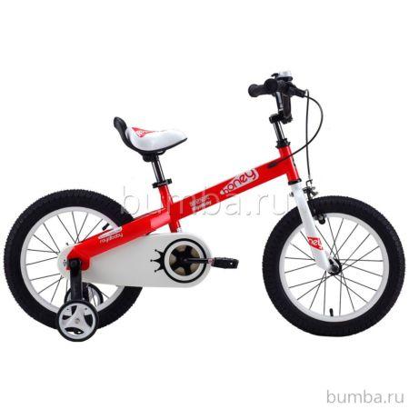 """Детский велосипед Royal Baby Honey Steel 14"""" (красный)"""