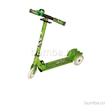 Самокат Explore Funny (зеленый)