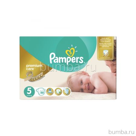 Подгузники Pampers Premium Care Junior (11-18 кг) 88 шт
