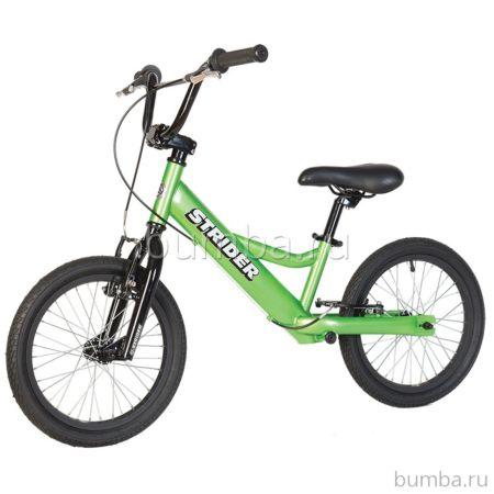 """Беговел Strider 16"""" Sport (зеленый)"""