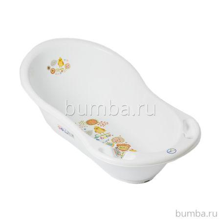 Детская ванночка Tega Baby Фолк 102 см