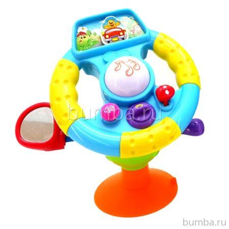 Развивающая игрушка Huile Счастливый Руль