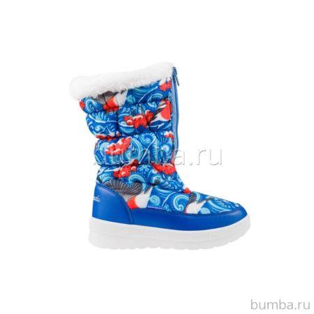 Сапоги детские Kakadu 5662B для девочек (синие)