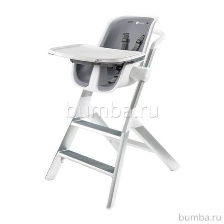 Стульчик для кормления 4moms High-chair (бело-серый)