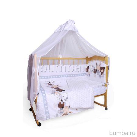 Комплект постельного белья AmaroBaby (7 предметов) Happy