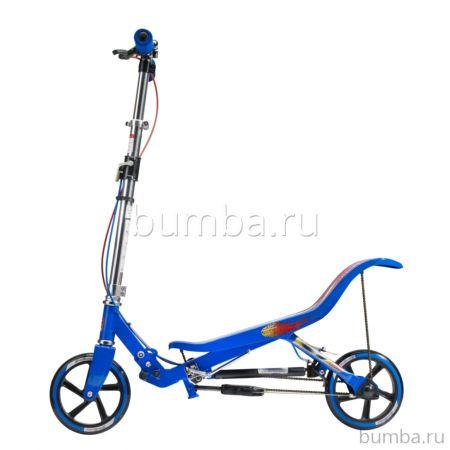 Самокат Space Scooter X580 (синий)