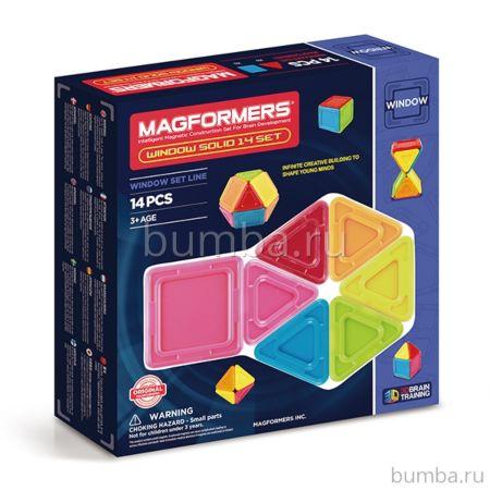 Конструктор Magformers Window Solid 14 set