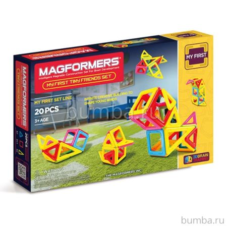 Конструктор Magformers My First Tiny Friends Set