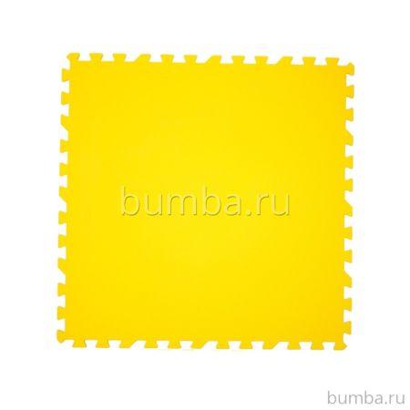 Мягкий пол Экополимеры 100*100 (желтый)