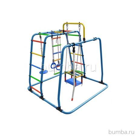 Детский спортивный комплекс Формула Здоровья Игрунок Т Плюс (голубой)