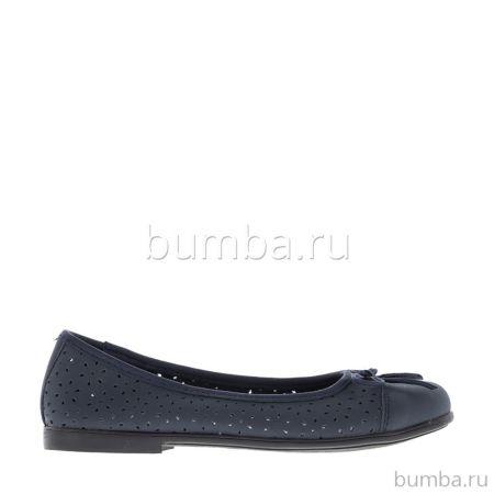 Туфли детские Kakadu 6000B для девочек (черные)