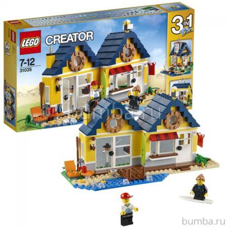 Конструктор Lego Creator 31035 Домик у моря