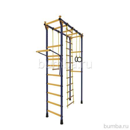 Детский спортивный комплекс Лидер П-01 М (сине-желтый)
