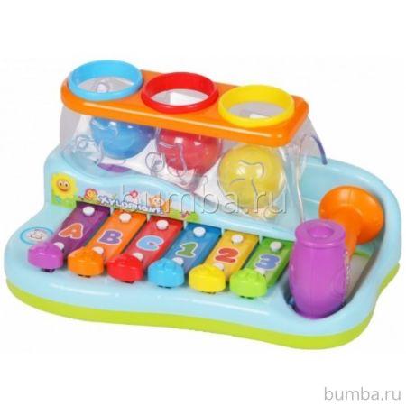 Развивающая игрушка Huile Ксилофон с мячиками