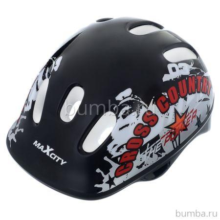 Шлем MaxCity Baby Cross (красный)