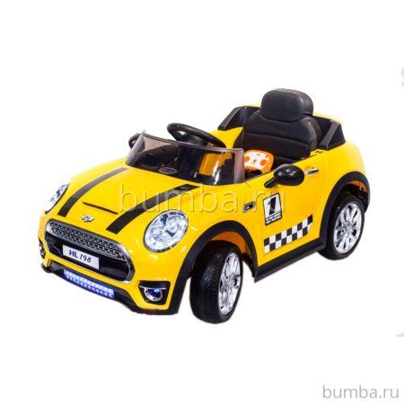 Электромобиль ToyLand Mini Cooper HL198 (желтый)