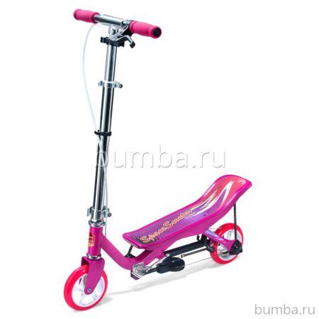 Самокат Space Scooter Junior X360 (розовый)