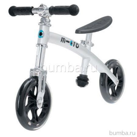 Беговел Micro G-Bike+ light (стальной)