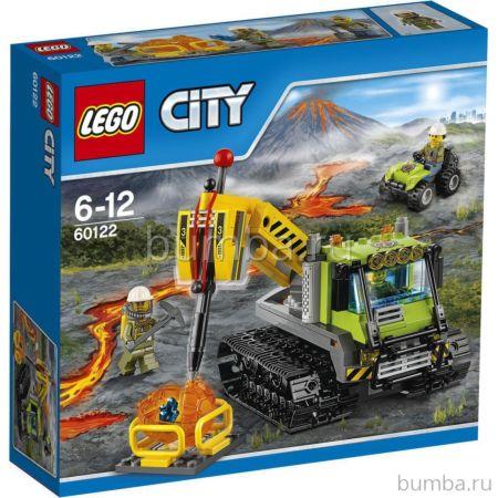 Конструктор Lego City 60122 Город Вездеход исследователей вулканов