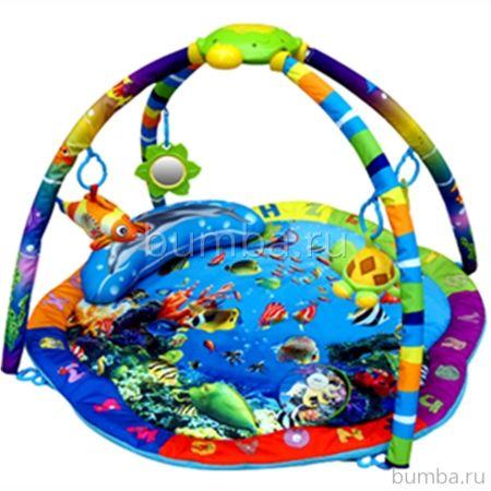 Развивающий коврик La-Di-Da Подводный мир (со светом и музыкой)